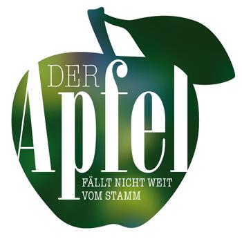 Logo: Der Apfel fällt nicht weit vom Stamm